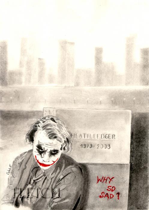 Heath Ledger by Fletch